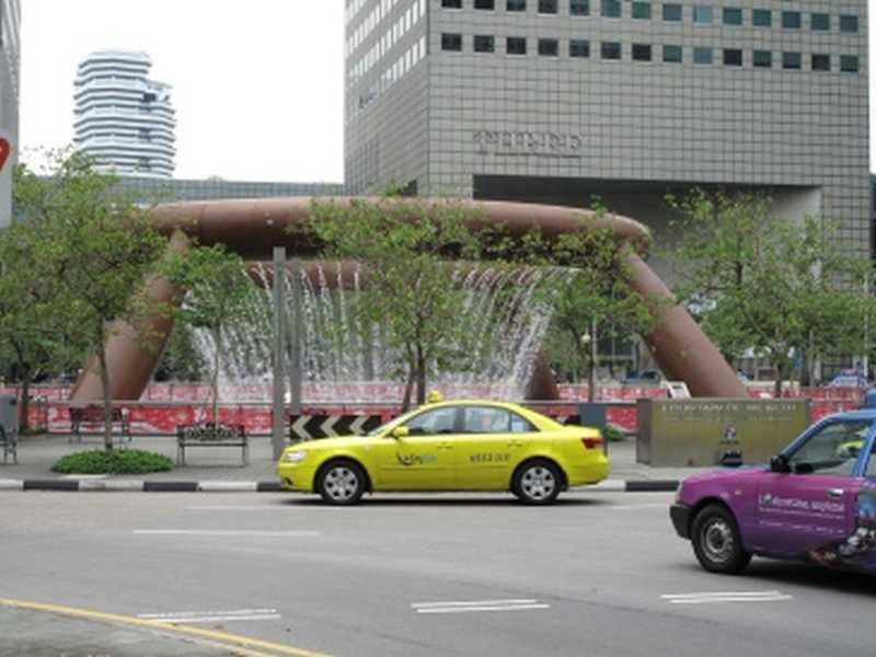 Taxi in Singapur